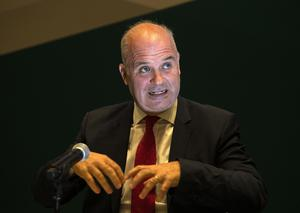 Chief Medical Officer Dr Tony Holohan speaking yesterday. Photo: Colin Keegan, Collins Dublin