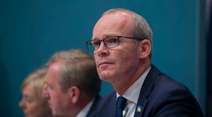 Simon Coveney. Photo: Gareth Chaney/Collins