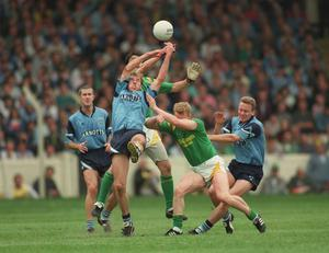 Stynes says the Dublin team of the nineties peaked against Meath in the 1995 Leinster final. Picture credit; Ray McManus / SPORTSFILE