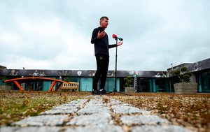 Opening stand: Stephen Kenny says he wants to create a real high-performance environment as Ireland manager. Photo: Stephen McCarthy/Sportsfile