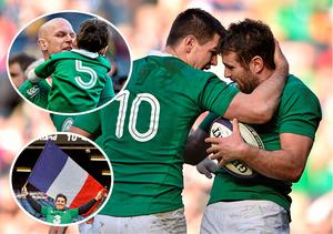 Joy for Ireland in Edinburgh as their 40-10 over Scotland was enough to claim back-to-back Six Nations titles