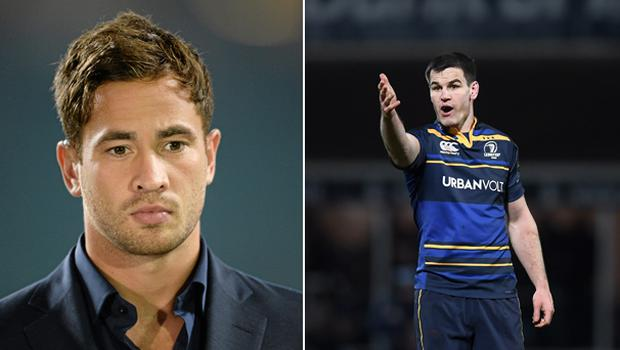 Danny Cipriani and Johnny Sexton