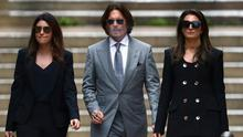 'Humble': Actor Johnny Depp leaving the High Court in London yesterday. Photo: REUTERS/Hannah McKay