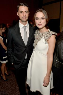 "Actors Matthew Goode (L) and Keira Knightley attend The Weinstein Company's ""The Imitation Game"" Los Angeles special screening hosted by CHANEL on November 10, 2014 in Los Angeles, California.  (Photo by Charley Gallay/Getty Images for The Weinstein Company)"