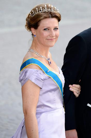 Princess Martha Louise of Norway attends the wedding of Princess Madeleine of Sweden and Christopher O'Neill hosted by King Carl Gustaf XIV and Queen Silvia at The Royal Palace on June 8, 2013 in Stockholm, Sweden.  (Photo by Pascal Le Segretain/Getty Images)
