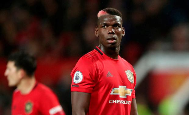 STILL SIDELINED: Paul Pogba has been out of action sinceSeptember. Photo: PA