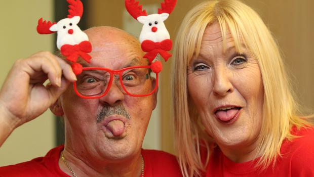 Brendan O'Carroll and wife Jenny Gibney. Photo: Colin Keegan