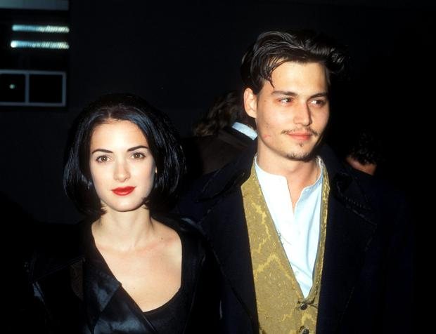 Winona Ryder & Johnny Depp (Photo by Barry King/WireImage)