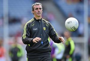 Jim McGuinness was wrongly painted as a despot when reports emerged he had insisted there would be no club football played in Donegal until his team were finished in the Championship . Photo: Stephen McCarthy / SPORTSFILE