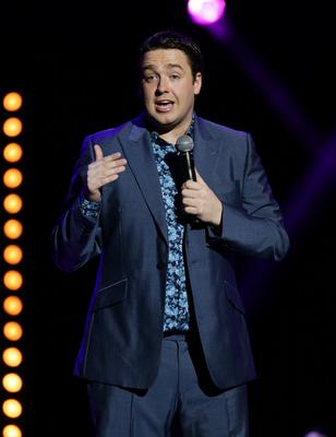 Jason Manford on stage (Yui Mok/PA)