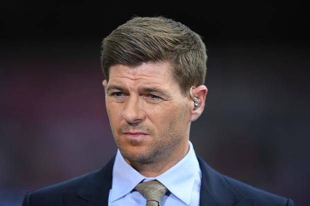 Steven Gerrard gave his views in his role as a BT Sport pundit (Photo by Laurence Griffiths/Getty Images)