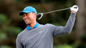 Tiger Woods was taken to hospital after being involved in a traffic collision. Richard Sellers/PA Wire.