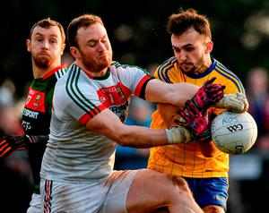 Rob Hennelly in action for Mayo against Roscommon in the Connacht League. Photo: Ramsey Cardy/Sportsfile