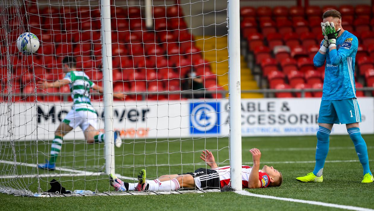 Shamrock Rovers strike late in Derry to maintain 100% record