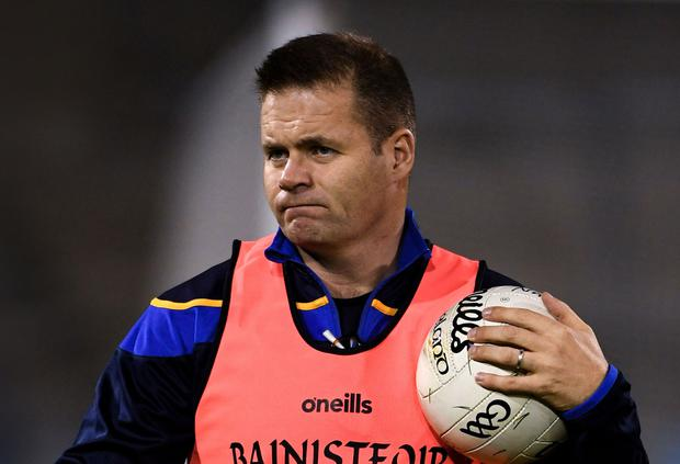 Dessie Farrell will be aiming to drive Dublin on to a sixth successive All-Ireland SFC title in 2020. Photo: Sportsfile