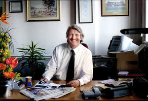 The late Sunday Independent Editor Aengus Fanning 'pressed the urgent need for a stimulus package'. Photo David Conachy.