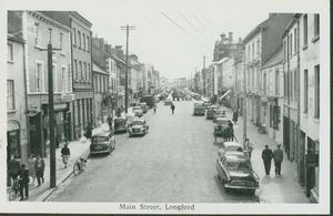 The main streets of small towns like Longford were once home to a wide variety of shops