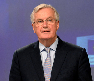 "'EU's Brexit negotiator Michel Barnier has already warned of ""serious divergence"" between the UK and the bloc on their future relationship.' Photo: Reuters"