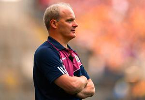 Galway manager Micheál Donoghue. Photo: David Fitzgerald/Sportsfile