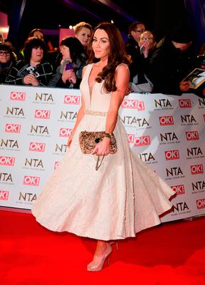 Michelle Heaton arriving at the National Television Awards 2017, held at The O2 Arena, London. PRESS ASSOCIATION Photo. Picture date: 25th January, 2017. See PA Story SHOWBIZ NTAs. Photo credit should read: Ian West/PA Wire