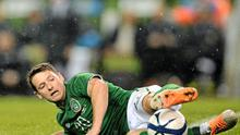 After being overlooked for much of the Trapattoni era, Wes Hoolahan has already clocked up eight appearances under Martin O'Neill. SPORTSFILE