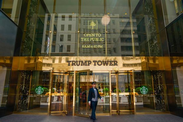 Trump Towers is now valued at $450m, down from $480m in 2012