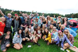 04/09/15Music Fans pictured arriving to Electric Picnic in Stradballly. Pic Stephen Collins/Collins Photos
