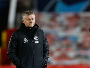 Manchester United manager Ole Gunnar Solskjaer after the match. REUTERS/Phil Noble