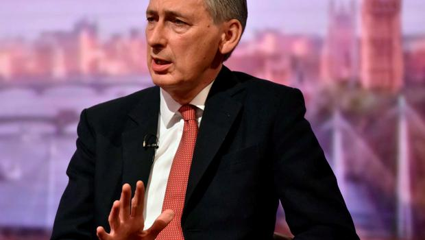 """For use in UK, Ireland or Benelux countries only  EDITORIAL USE ONLY Handout photo issued by the BBC of Foreign Secretary Philip Hammond appearing on BBC One's The Andrew Marr Show. PRESS ASSOCIATION Photo. Picture date: Sunday June 7, 2015. Philip Hammond has said the Government is keeping """"all our options open"""" over Britain's future in the European Union as it emerged that 50 Tory MPs are poised to lead the campaign for Britain to quit. See PA story POLITICS EU. Photo credit should read: Jeff Overs/BBC/PA Wire  NOTE TO EDITORS: Not for use more than 21 days after issue. You may use this picture without charge only for the purpose of publicising or reporting on current BBC programming, personnel or other BBC output or activity within 21 days of issue. Any use after that time MUST be cleared through BBC Picture Publicity. Please credit the image to the BBC and any named photographer or independent programme maker, as described in the caption."""