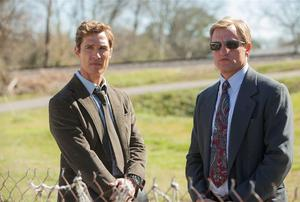Matthew McConaughey and Woody Harrelson in 'True Detective'