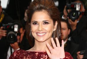 Even Cheryl Cole feels uncomfortable without any make-up on. Getty Images