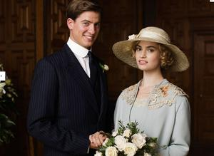 Downton Abbey's Atticus and Lady Rose