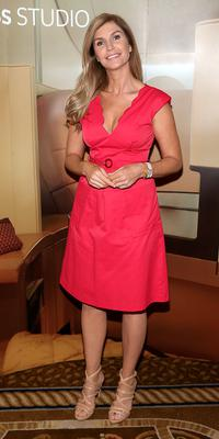 Yvonne Connolly at The Etihad Airways International Charity Lunch and Fashion Show in aid of the Rape Crisis Centre.