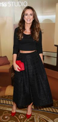 Lorraine Keane at The Etihad Airways International Charity Lunch and Fashion Show in aid of the Rape Crisis Centre.