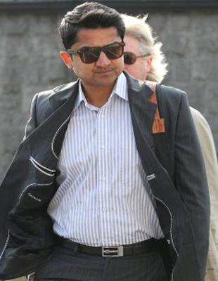 Praveen Halappanavar pictured as he arrived at Galway Courthouse before the start of the second day of the inquest in to the death of his wife Savita.