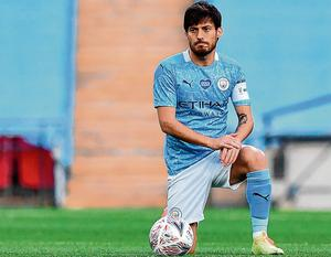 David Silva has won four league titles, two FA Cups and five League Cups since joining Manchester City in 2010. Photo: Justin Tallis/NMC Pool/PA Wire