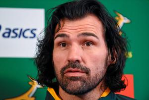 Victor Matfield says South Africa's World Cup countdown begins with Saturday's match against Ireland
