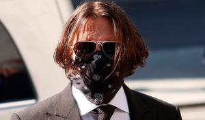 'Rules': Actor Johnny Depp arriving at London's High Court yesterday. Photo: Yui Mok/PA Wire