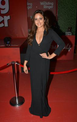 Nadia Forde at the Irish Premiere of The Wedding Ringer at The Savoy Cinema