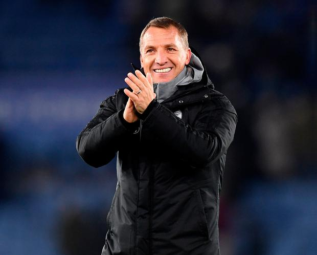 Leicester City under Brendan Rodgers are currently second in the league