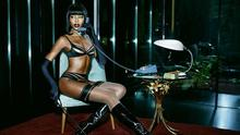 Naomi Campbell for Agent Provocateur. Picture: Ellen Von Unwerth/Agent Provocateur