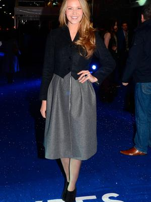 Aoibhin Garrihy at the 'Sapphires' premiere at The Savoy in 2012