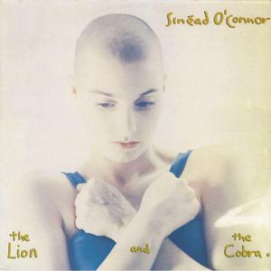 The cover of The Lion And The Cobra - Sinead O'Connor released in 1987