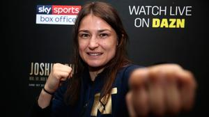 Katie Taylor says the bill she is headlining on Saturday is the kind of thing she never thought she would see when she was growing up