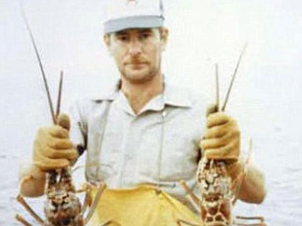 Terry Symansky - a fisherman who died in a freak accident in 1991