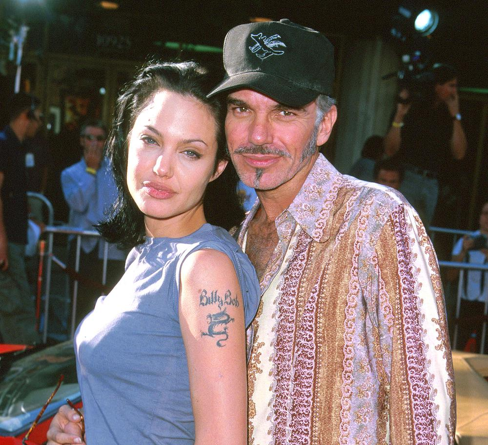 Billy Bob Thornton and Angelina Jolie wore vials of each
