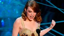 Actress Emma Stone accepts Best Actress for 'La La Land' onstage during the 89th Annual Academy Awards at Hollywood & Highland Center on February 26, 2017 in Hollywood, California.  (Photo by Kevin Winter/Getty Images)