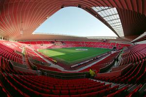 A general view of Sunderland's Stadium of Light home. Sunderland's accounts over a decade, collected by UK-based academic Kieran Maguire, show a loss of £442,000 a week