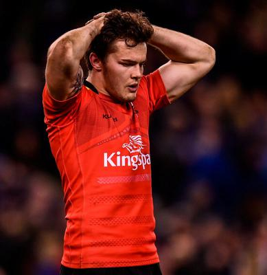 Ulster's Jacob Stockdale following the 2019 Heineken Champions Cup quarter-final loss to Leinster. Photo: Sportsfile