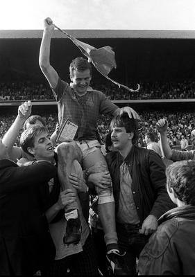 Colm O'Rourke after the 1987 All-Ireland final